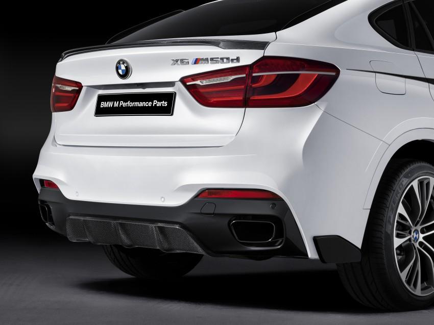 F16 BMW X6 gets BMW M Performance Parts range Image #294441