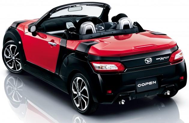 Daihatsu Copen Xplay New Clothes For Kei Roadster