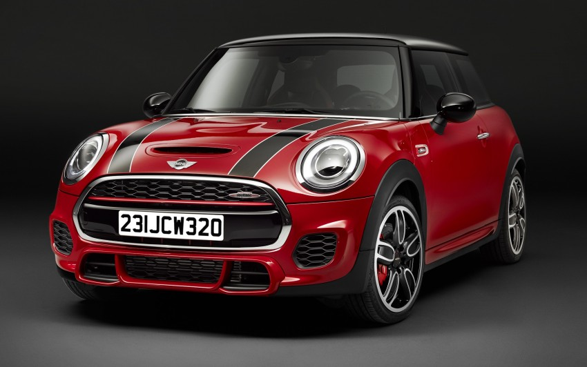 F56 MINI John Cooper Works – most powerful series production MINI unveiled with 231 hp and 320 Nm Image #295247