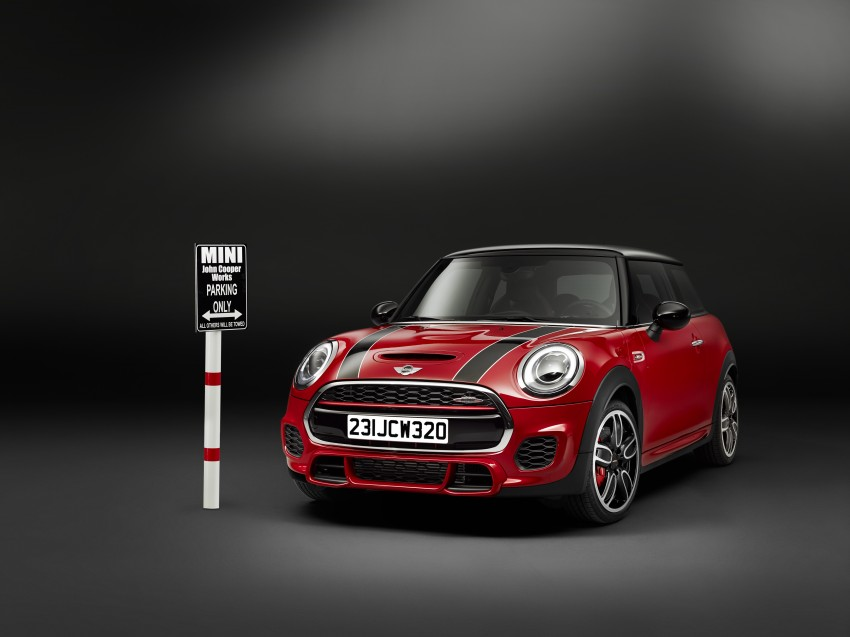 F56 MINI John Cooper Works – most powerful series production MINI unveiled with 231 hp and 320 Nm Image #295248
