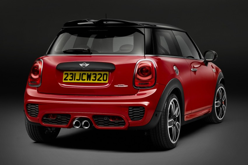 F56 MINI John Cooper Works – most powerful series production MINI unveiled with 231 hp and 320 Nm Image #295250