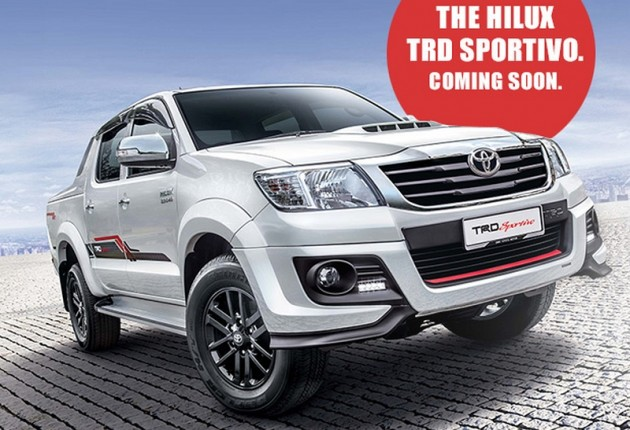 Toyota Hilux Trd Sportivo Revealed From Rm105k