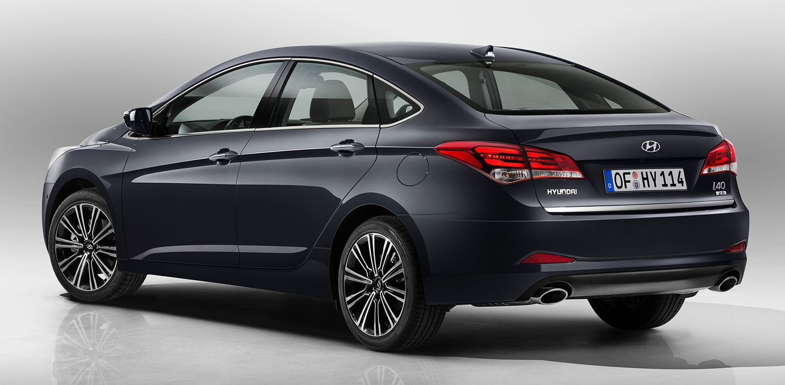 hyundai i40 facelift new 7 speed dct introduced image 295281. Black Bedroom Furniture Sets. Home Design Ideas
