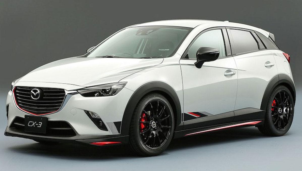 Tuned Mazda Ensemble To Feature At Tokyo Auto Salon