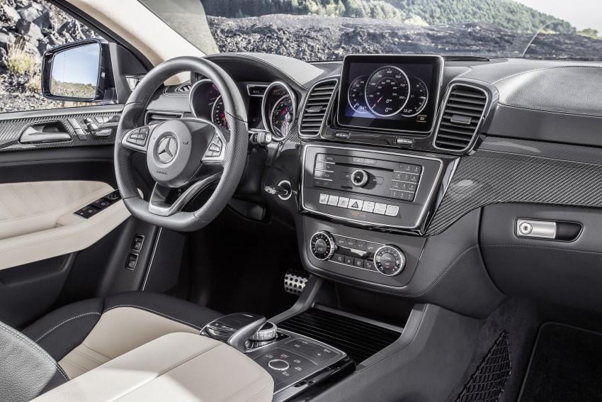 Mercedes-Benz GLE Coupe: Stuttgart's X6 rival debuts Image #294923