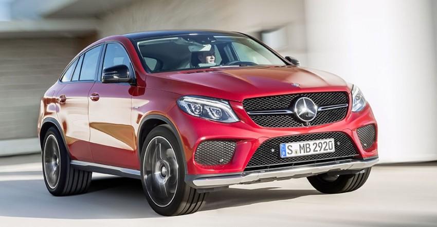 Mercedes-Benz GLE Coupe: Stuttgart's X6 rival debuts Image #294933