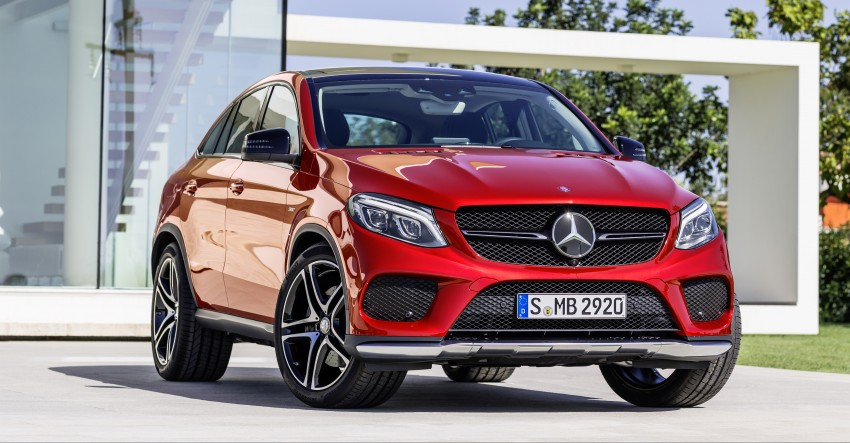 Mercedes-Benz GLE Coupe: Stuttgart's X6 rival debuts Image #294941