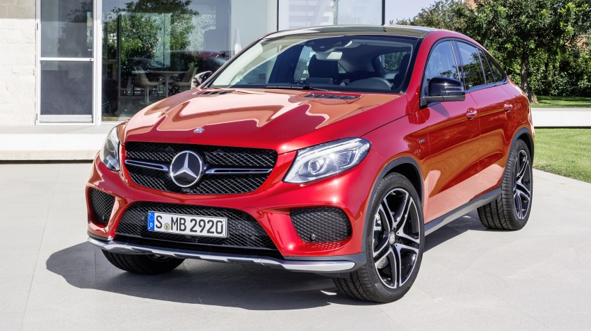 Mercedes-Benz GLE Coupe: Stuttgart's X6 rival debuts Image #294944