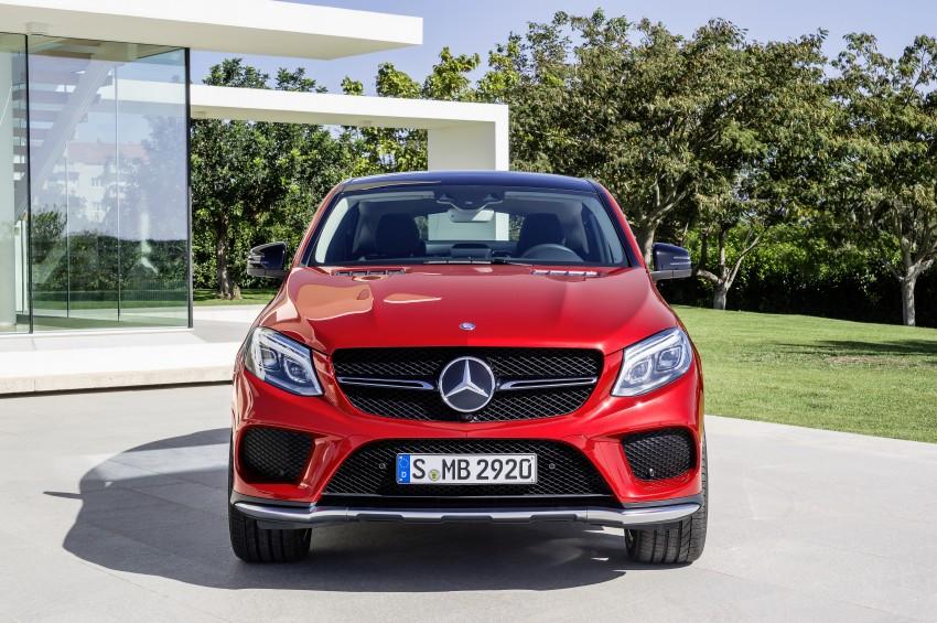 Mercedes-Benz GLE Coupe: Stuttgart's X6 rival debuts Image #294960