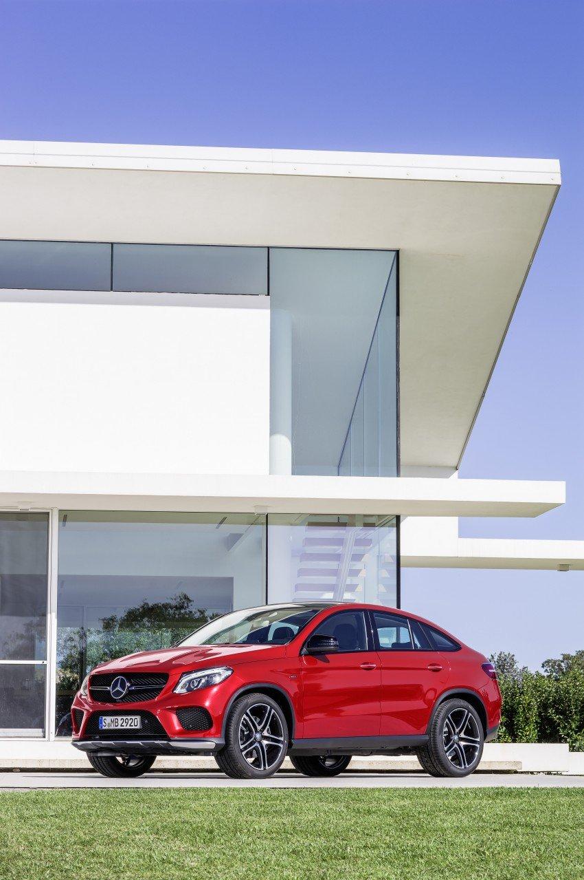 Mercedes-Benz GLE Coupe: Stuttgart's X6 rival debuts Image #294962