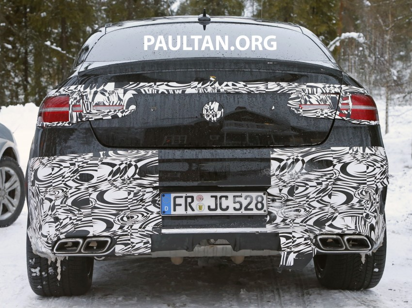 SPYSHOTS: Mercedes-Benz GLE Coupe winter-testing Image #293778