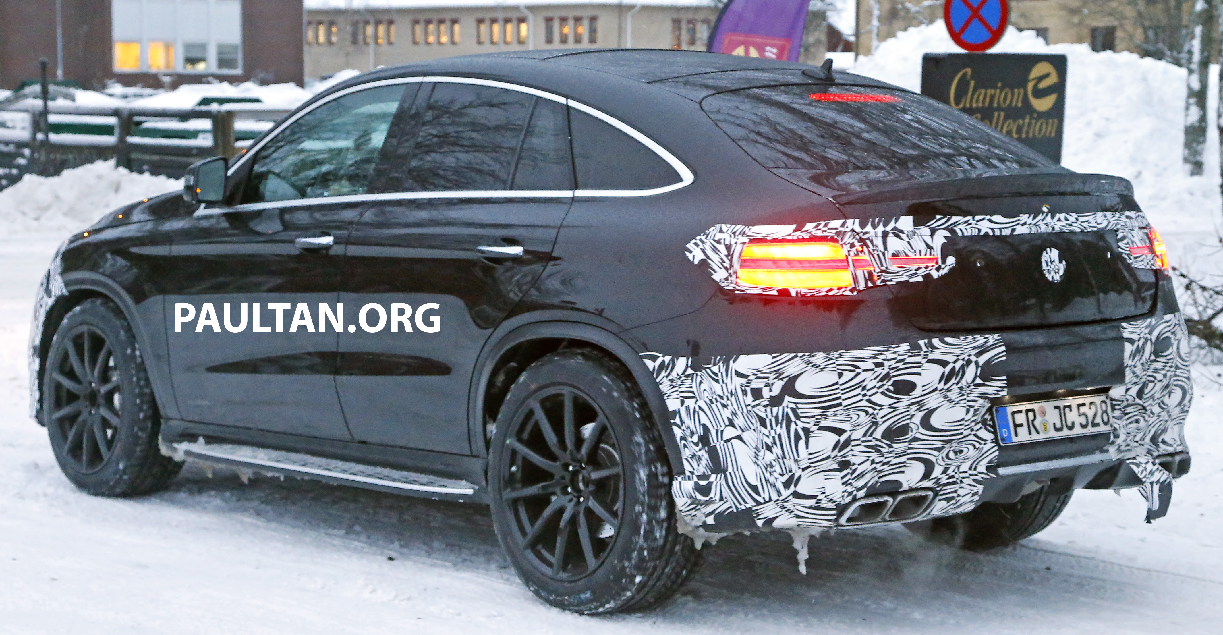 Mercedes Gle Coupe >> SPYSHOTS: Mercedes-Benz GLE Coupe winter-testing Paul Tan - Image 293770