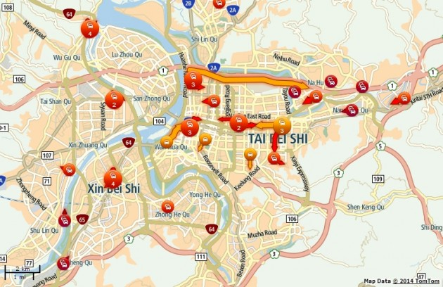 TomTom Traffic - now available for Malaysian maps