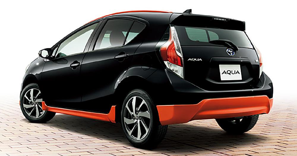 Toyota Aqua X Urban Prius C With Crossover Styling Image