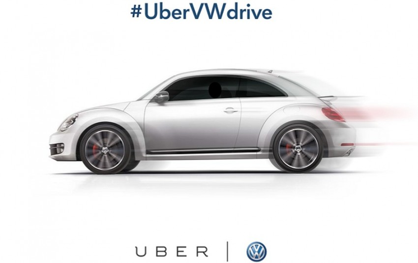 Uber and Volkswagen get together for charity – local celebs to be Uber drivers for today in VW vehicles Image #295513