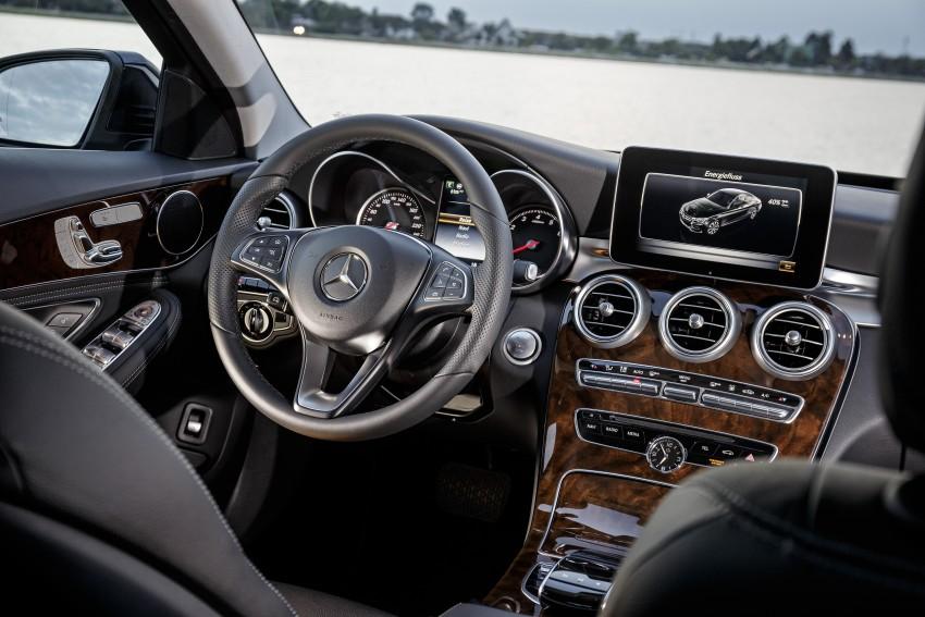 Mercedes-Benz C 350 Plug-In Hybrid debuts with 2.0 turbo engine, electric motor and lithium ion battery Image #302945
