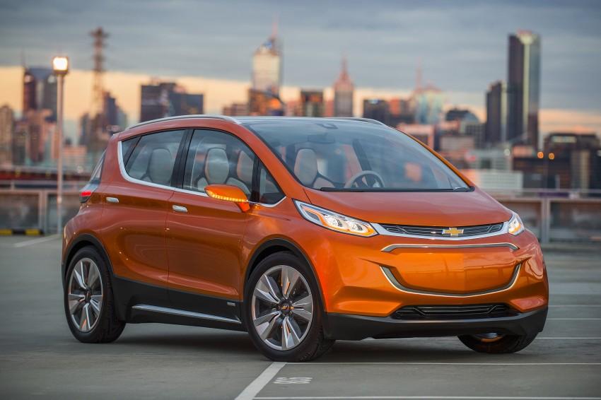 Chevrolet Bolt EV concept – US$30k, 320 km range Image #302729