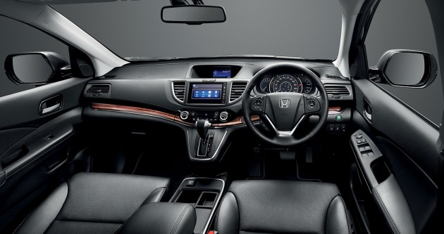 Honda Cr V Facelift Launched In Malaysia New 2 0l 2wd 2