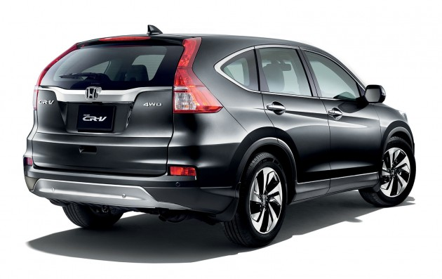 honda cr v facelift launched in malaysia new 2 0l 2wd 2 0l 4wd and 2 4l 4wd from rm139 800. Black Bedroom Furniture Sets. Home Design Ideas