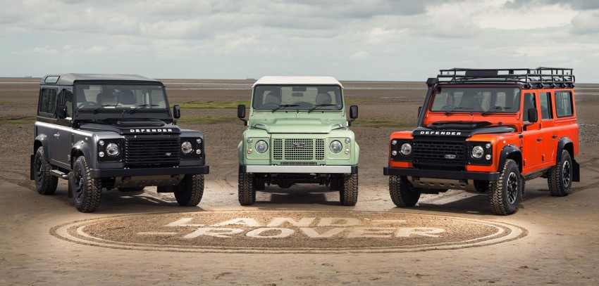 Three limited-edition Land Rover Defenders announced – Solihull production ends in Dec 2015 Image #300703