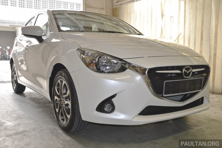 2015 Mazda 2 1.5 launched – hatch and sedan, RM88k Image #305970