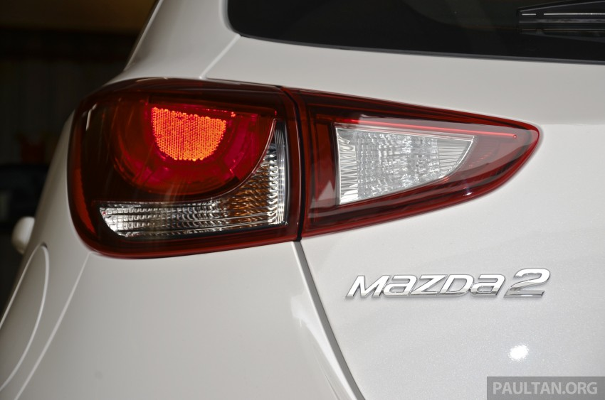 2015 Mazda 2 1.5 launched – hatch and sedan, RM88k Image #305986