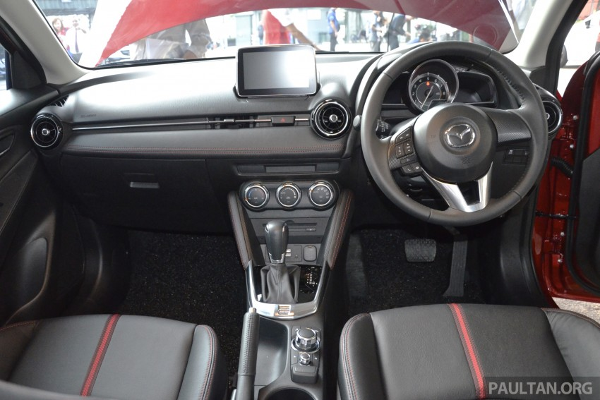 2015 Mazda 2 1.5 launched – hatch and sedan, RM88k Image #306084
