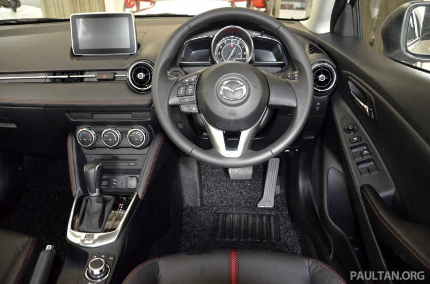 2015 Mazda 2 1.5 launched – hatch and sedan, RM88k Image #306003