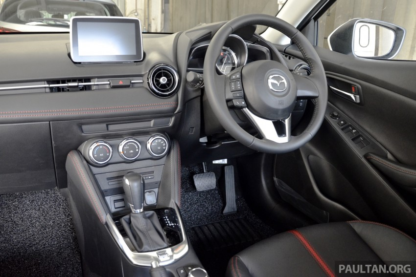 2015 Mazda 2 1.5 launched – hatch and sedan, RM88k Image #306023