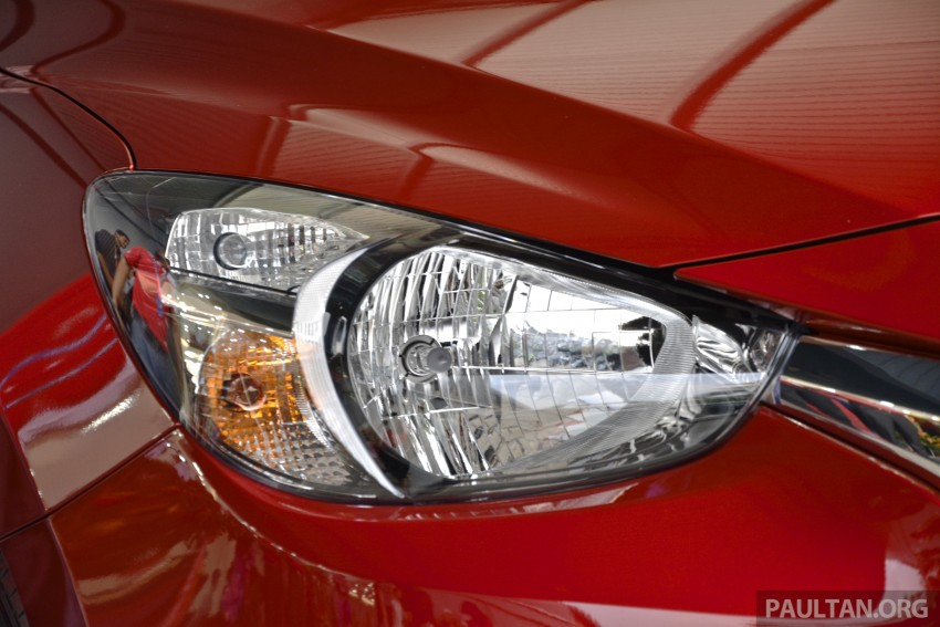 2015 Mazda 2 1.5 launched – hatch and sedan, RM88k Image #306082