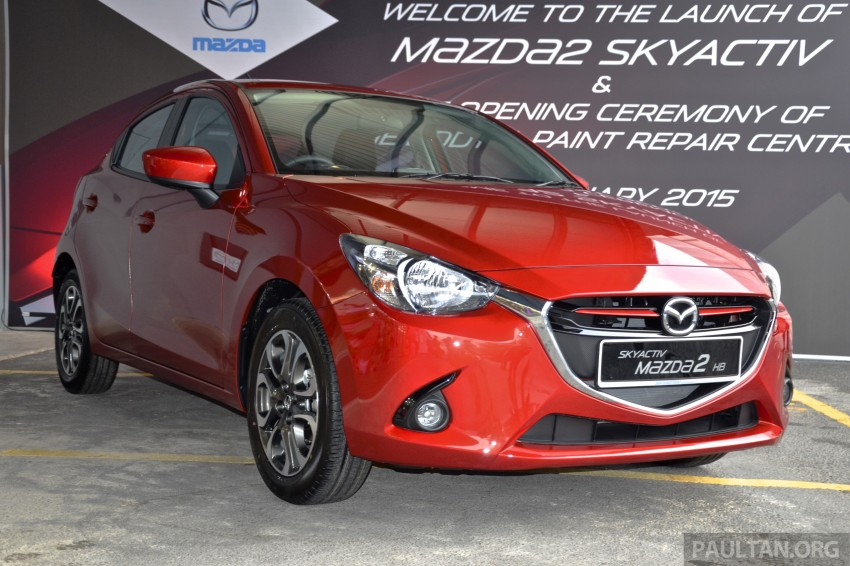 2015 Mazda 2 1.5 launched – hatch and sedan, RM88k Image #306087