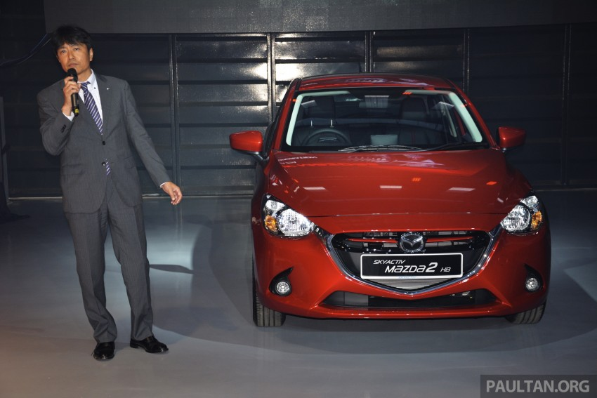 2015 Mazda 2 1.5 launched – hatch and sedan, RM88k Image #306059