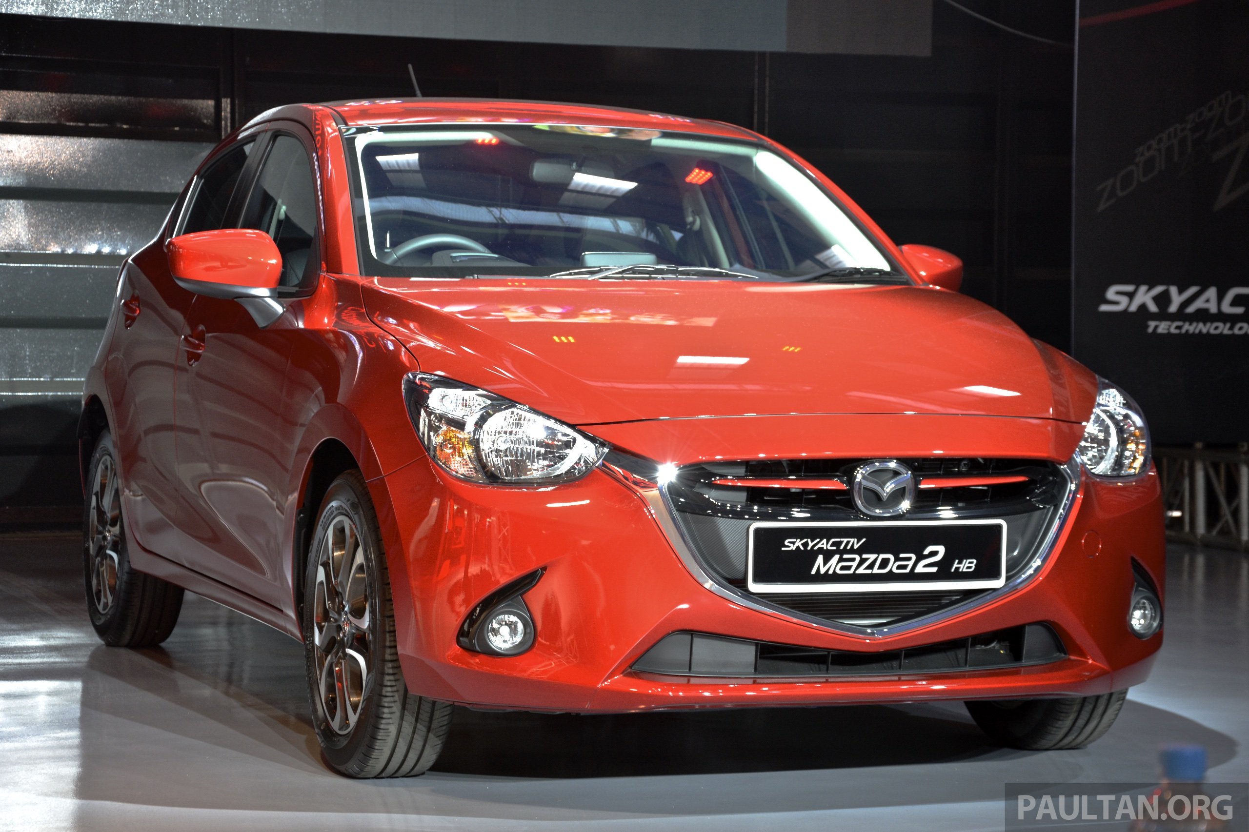 2015 mazda 2 1 5 launched hatch and sedan rm88k. Black Bedroom Furniture Sets. Home Design Ideas