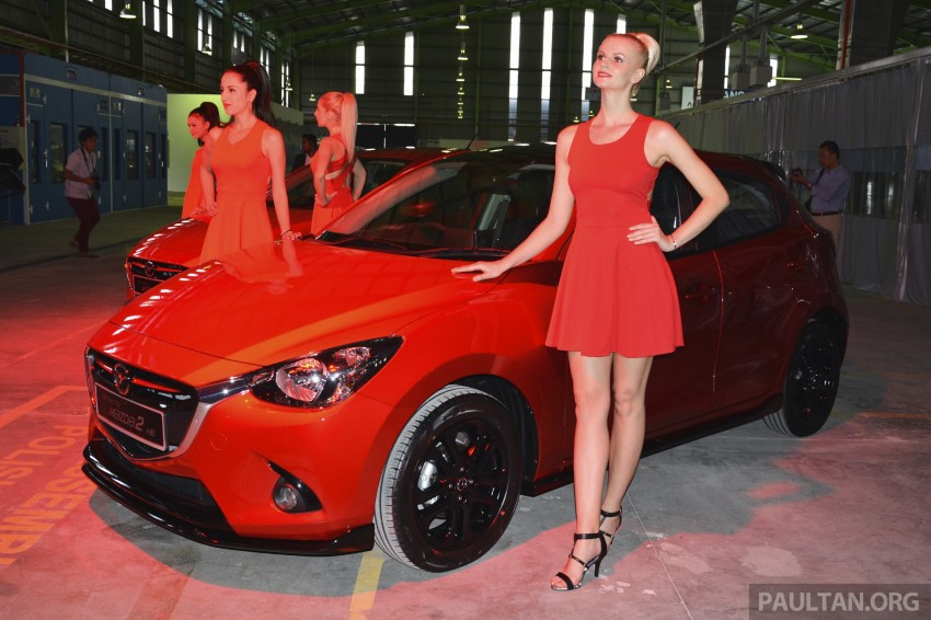 2015 Mazda 2 1.5 launched – hatch and sedan, RM88k Image #306060