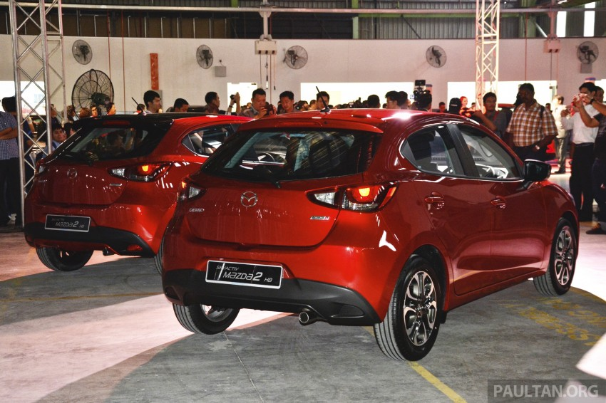 2015 Mazda 2 1.5 launched – hatch and sedan, RM88k Image #306064