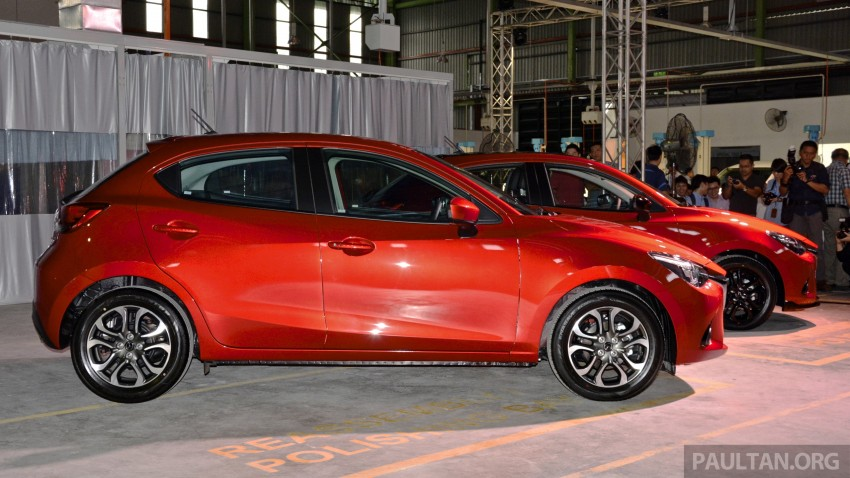 2015 Mazda 2 1.5 launched – hatch and sedan, RM88k Image #306065
