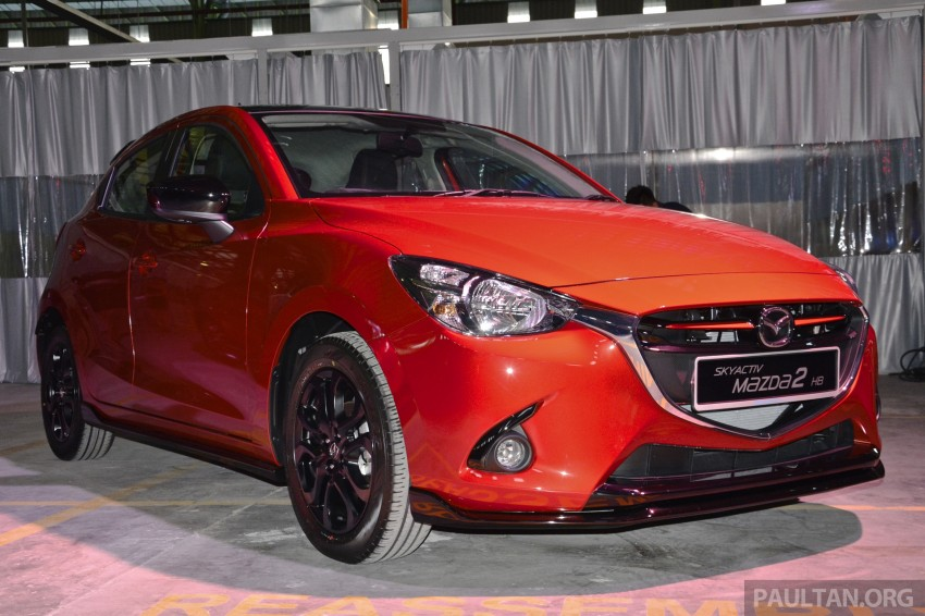 2015 Mazda 2 1.5 launched – hatch and sedan, RM88k Image #306067