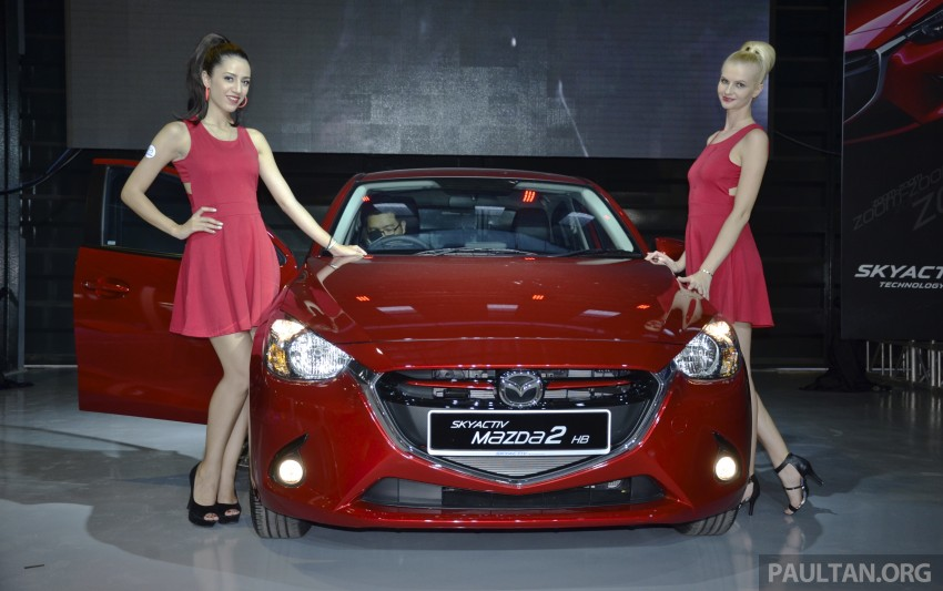 2015 Mazda 2 1.5 launched – hatch and sedan, RM88k Image #306078
