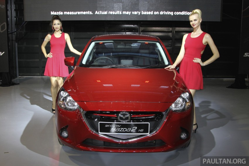 2015 Mazda 2 1.5 launched – hatch and sedan, RM88k Image #306105