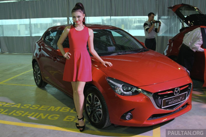 2015 Mazda 2 1.5 launched – hatch and sedan, RM88k Image #306106