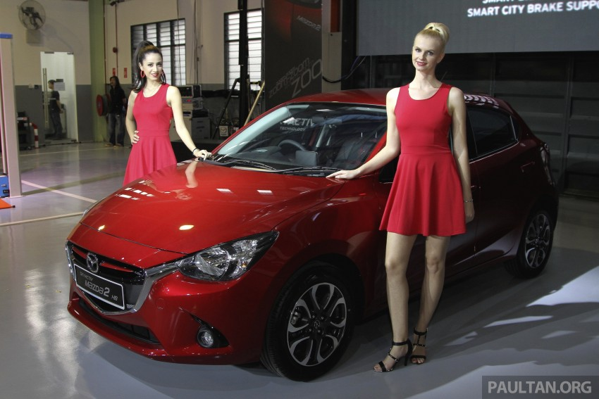 2015 Mazda 2 1.5 launched – hatch and sedan, RM88k Image #306108