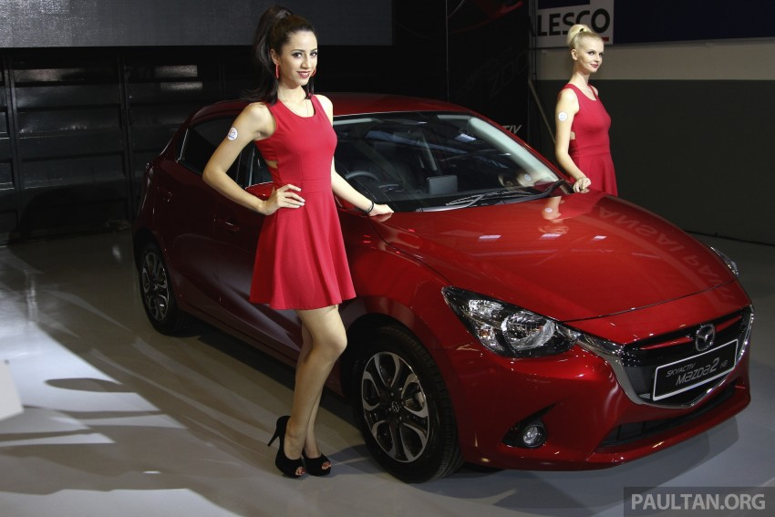 2015 Mazda 2 1.5 launched – hatch and sedan, RM88k Image #306110
