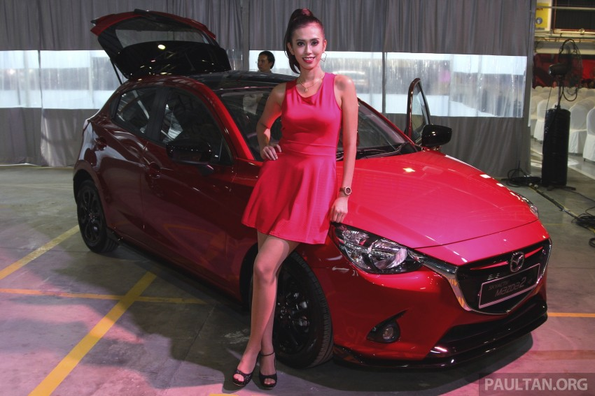 2015 Mazda 2 1.5 launched – hatch and sedan, RM88k Image #306111