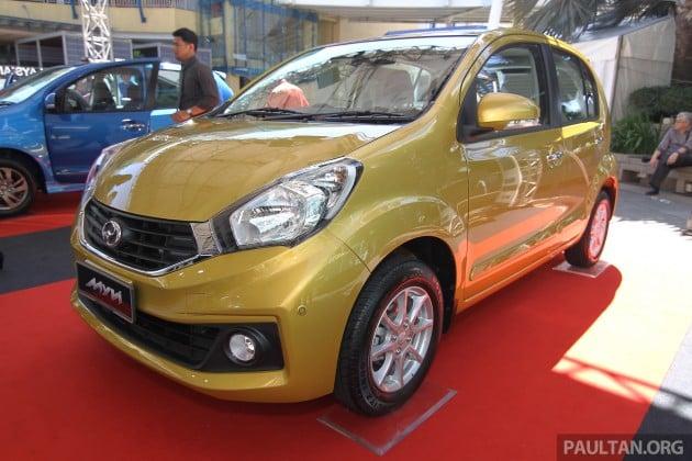 2015 Perodua Myvi Facelift Spec By Spec Comparison