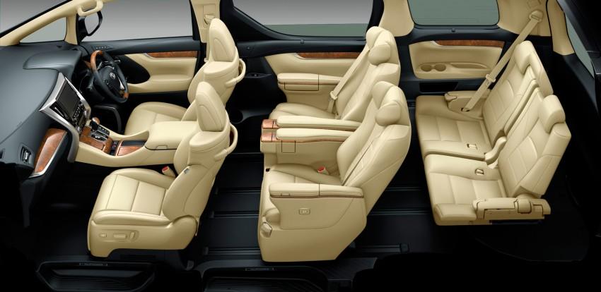 2015 Toyota Alphard and Vellfire unveiled – full details! Image #306828