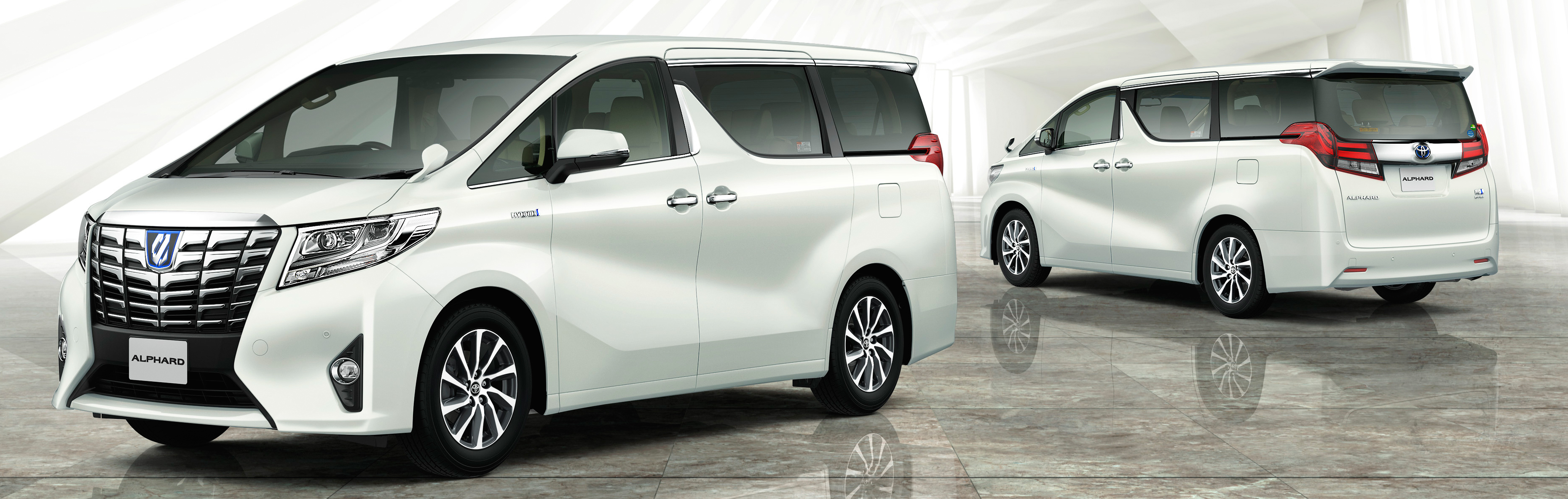 2015 Toyota Alphard And Vellfire Unveiled Full Details