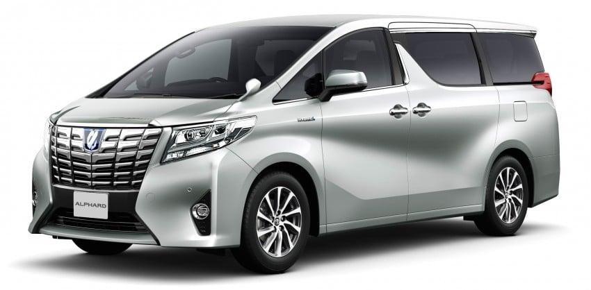 2015 Toyota Alphard and Vellfire unveiled – full details! Image #306830