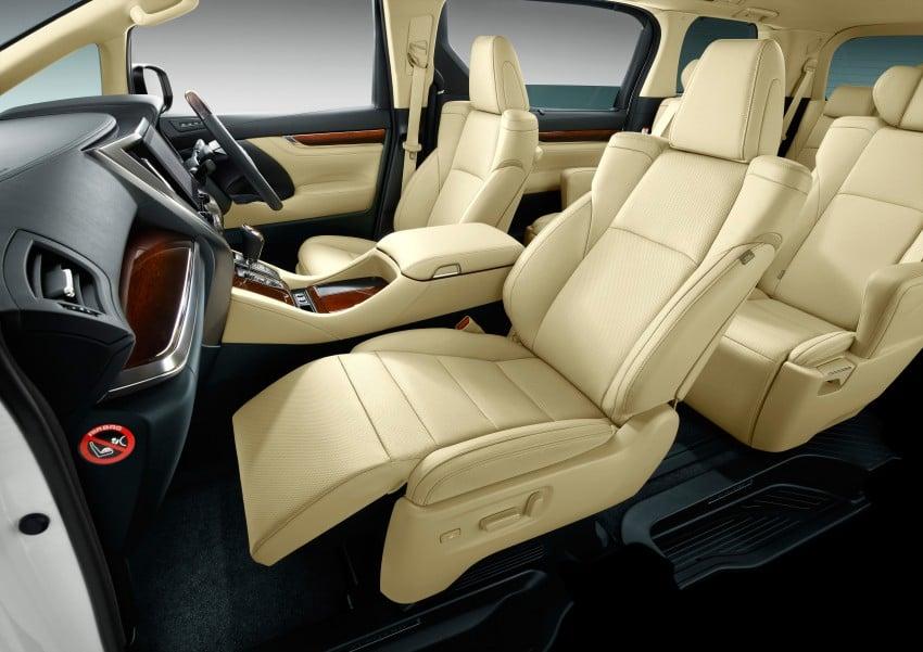 2015 Toyota Alphard and Vellfire unveiled – full details! Image #306837