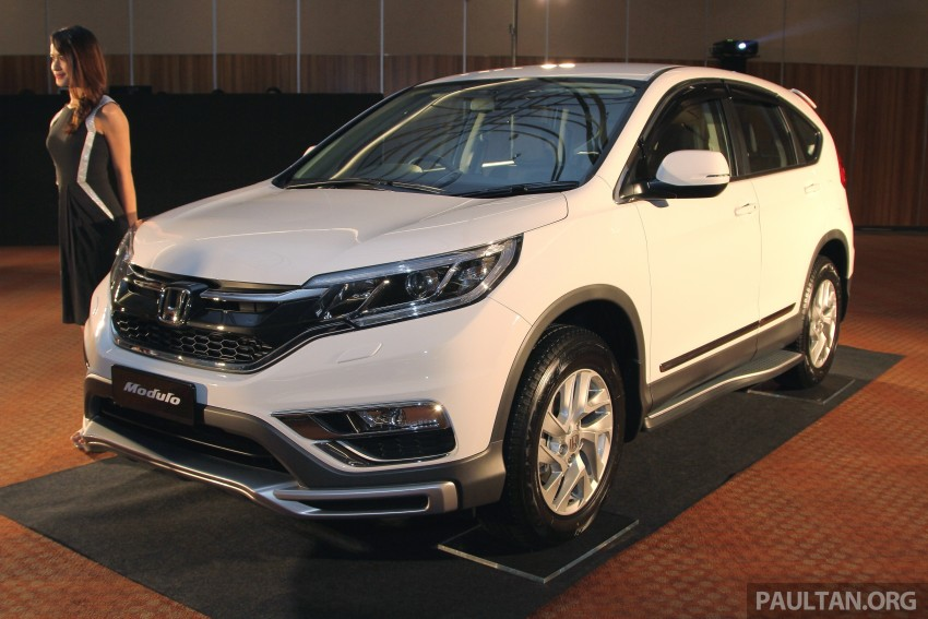 Back to Story: Honda CR-V facelift launched in Malaysia – new 2.0L ...