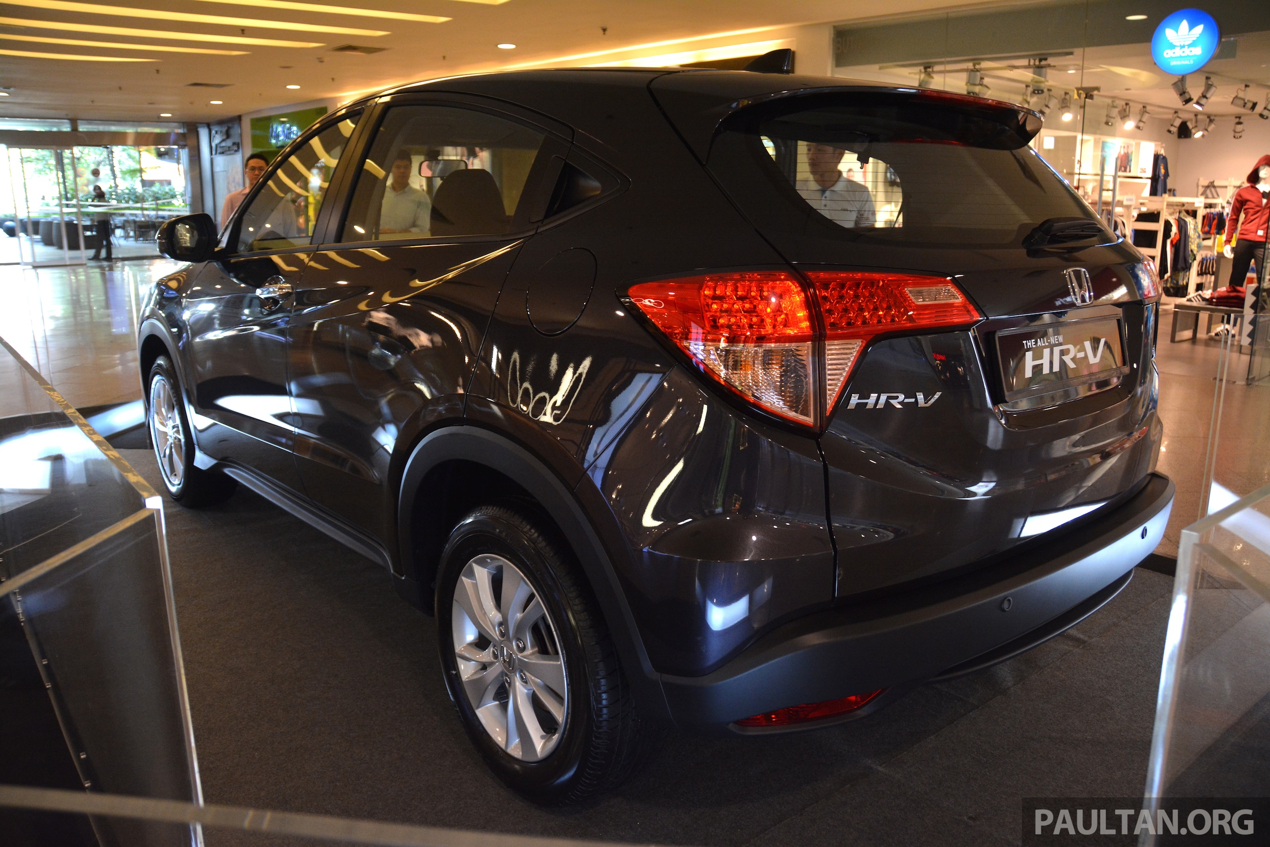 new car release in malaysia 2015Honda HRV on show in Malaysia  order books open Image 300154
